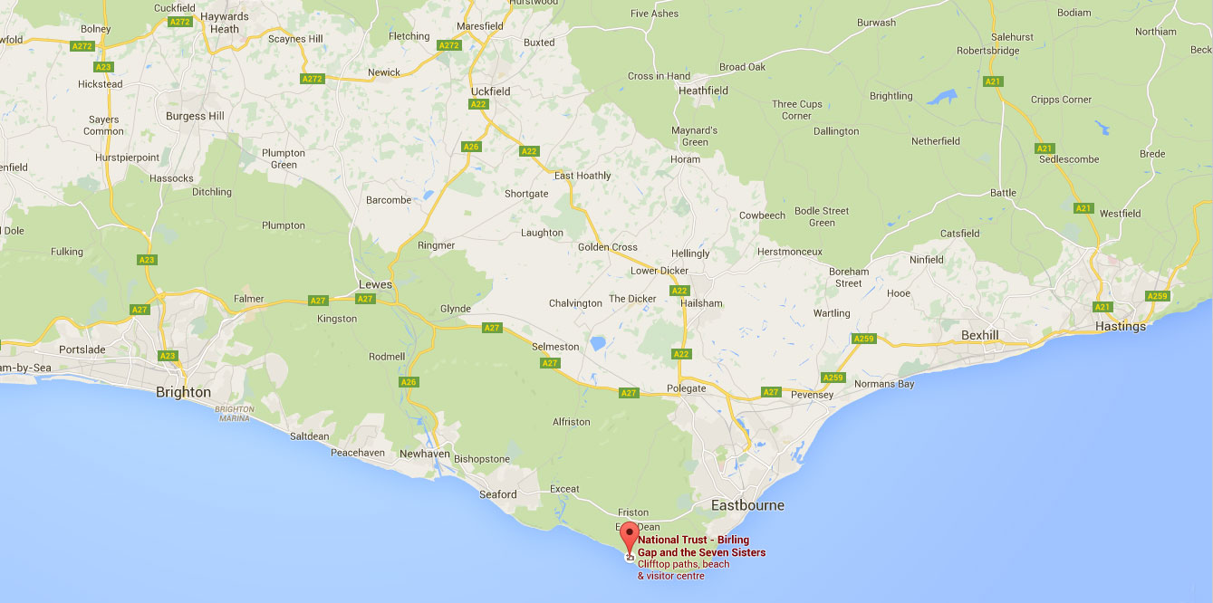 How to get to Birling Gap in Sussex