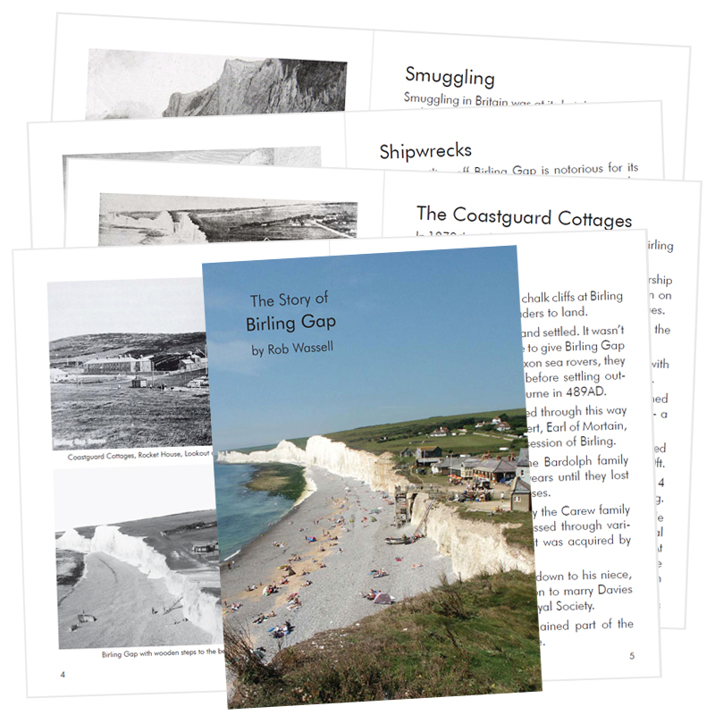 Rob Wassell's The Story of Birling Gap Book