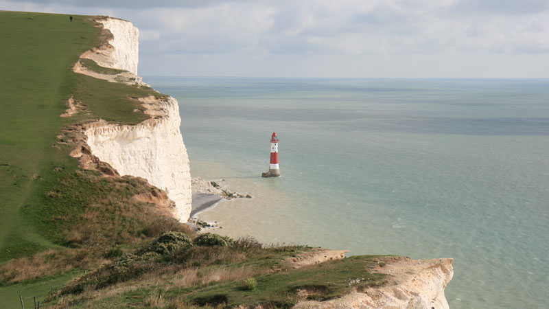 Birling Gap to the Beachy Head Lighthouse Looking East