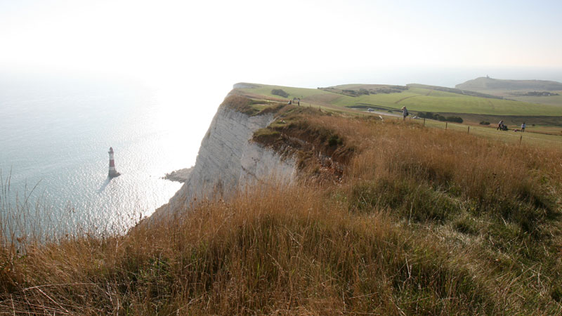 Birling Gap to the Beachy Head Lighthouse Looking West